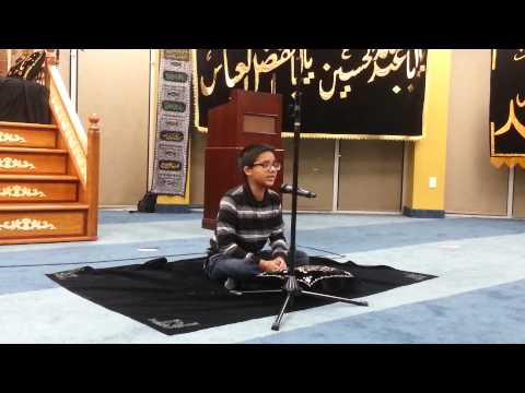 Qafla - Bani Asad By Syed Kumail Abbas At Dallas,tx Ilm Center video