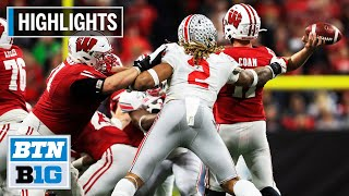 Highlights: Buckeyes Capture 3rd Straight B1G Title | Wisconsin vs. Ohio State | Dec. 7, 2019