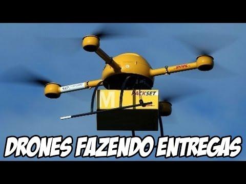 Empresa de Logística Alemã DHL já está usando DRONES para fazer suas entregas