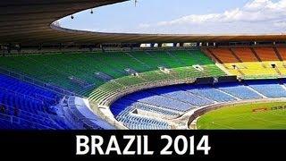 FIFA World Cup 2014 Brazil - Stadiums