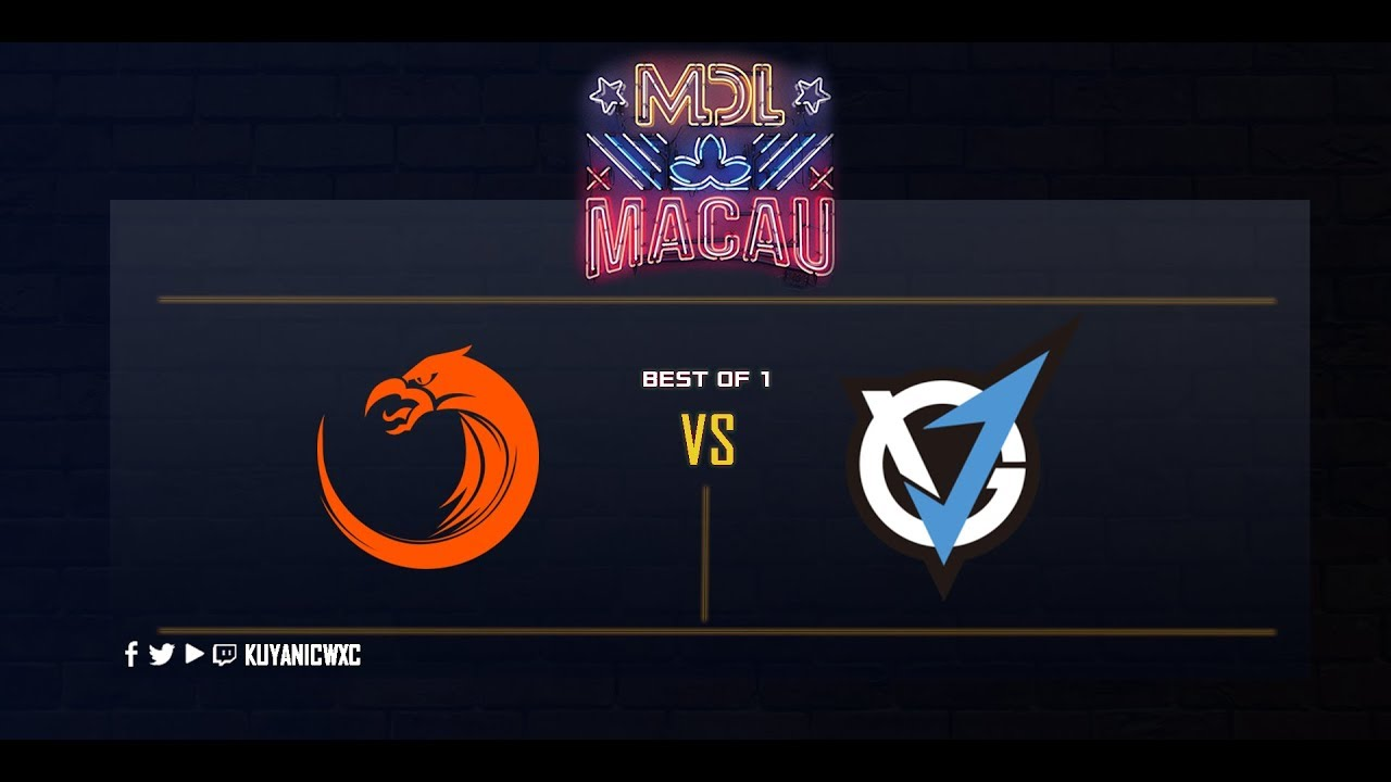 TNC Pro Team vs VG.J Storm Game 1 (Bo1) | MDL Macau