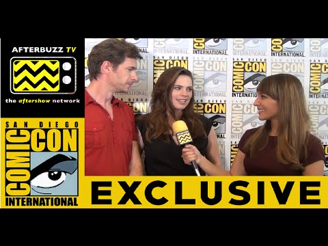 Hayley Atwell and James D'Arcy (Agent Carter) @ San Diego Comic Con 2015