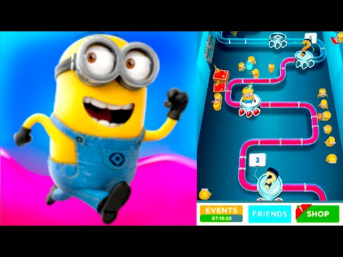Jelly Lab Update!!! Despicable Me: Minion Rush Gameplay Walkthrough #1 (iphone, Ipad, Ios, Android) video