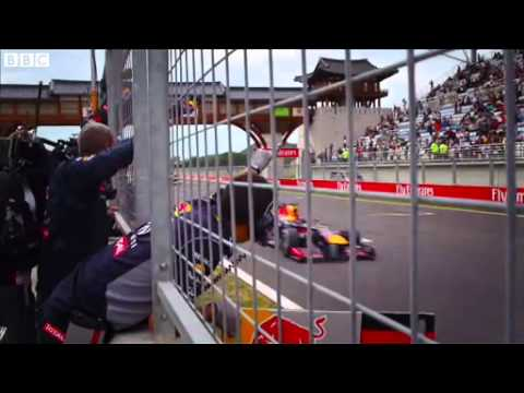 Formula 1 paddock pays tribute to Vettel: Indian GP 2013 - BBC F1
