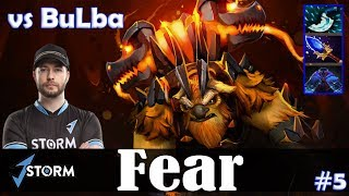 Fear - Earthshaker Roaming | vs BuLba (Batrider) | Dota 2 Pro MMR Gameplay #5