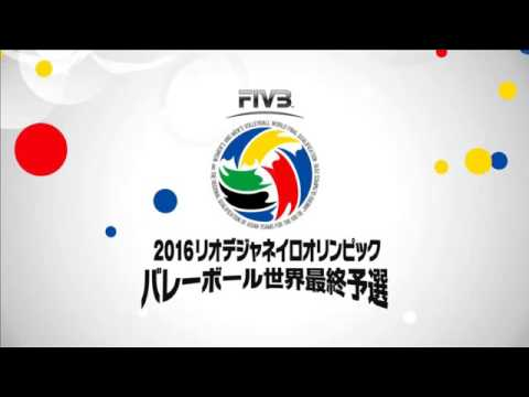 Today Japan vs China   29 May 2016   2016 Volleyball Mens World Olympic Qualification Tournaments