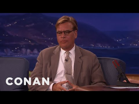 "Aaron Sorkin On The ""Steve Jobs"" Controversy  - CONAN on TBS"