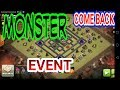 Selalu ada Yang Keren MONSTER vs TH 9 COME BACK EVENT TH 9 Clash Of Clans -