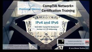 An overview of IPv4 and IPv6 - CompTIA Network+ N10-005: 1.3