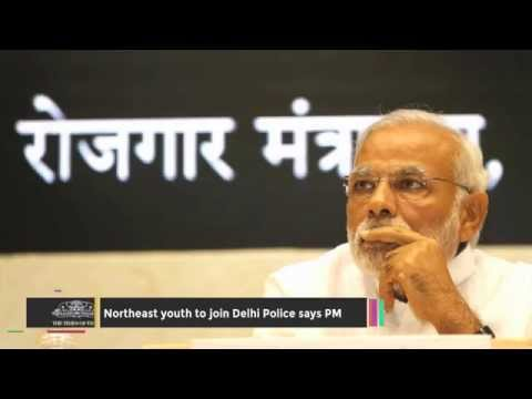 Northeast Youth to Join Delhi Police Says PM - TOI