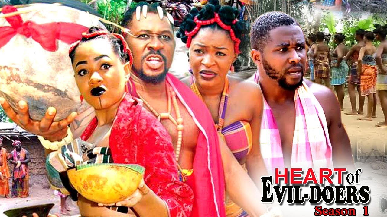 Heart of Evil Doers Nigerian Movie [Season 1] - Chacha Eke, Daniel K Daniel