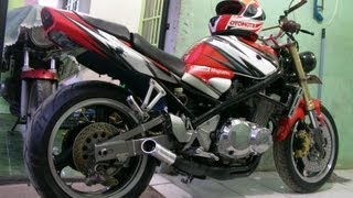 FOR SALE MOGE Suzuki Bandit 400cc thn1995 ISTIMEWA, FULL MODIF STRETFIGHTER, BANDUNG