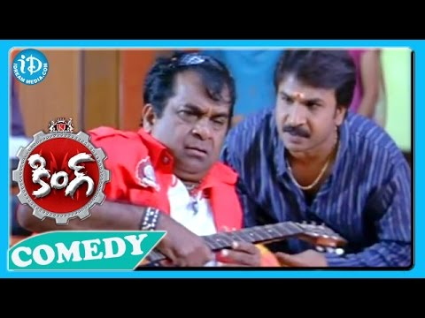 Nagarjuna Trisha King Movie Back To Back Comedy Scenes
