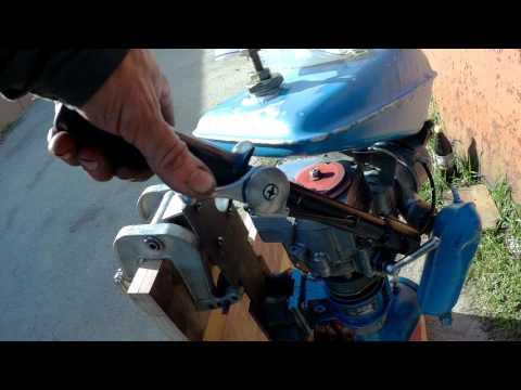 запчасти лодочный мотор микроша