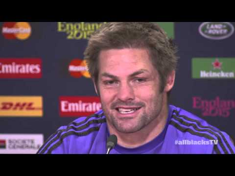 Full Richie McCaw Captain's Media Conference pre France