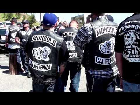 Mongols Mc - Riding video