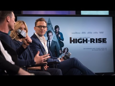 Tom Hiddleston, Sienna Miller, Luke Evans and Ben Wheatley of High-Rise on AOL - April 20, 2016