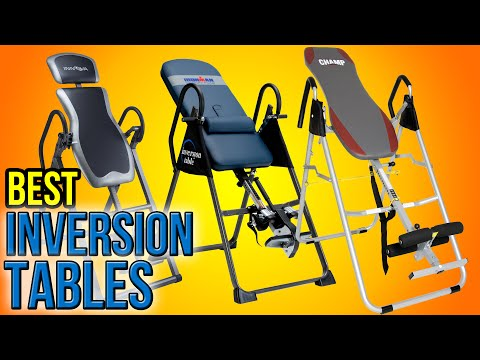 10 Best Inversion Tables‎ 2016