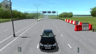 City Car Driving  1.4.1 Mercedes clk55 amg (0-270)Son Hız(Top Speed)