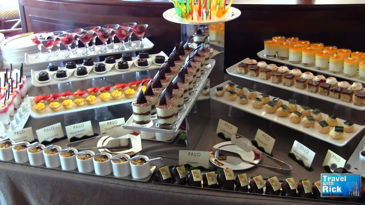 brunch buffet at palo on the disney dream   episode 210