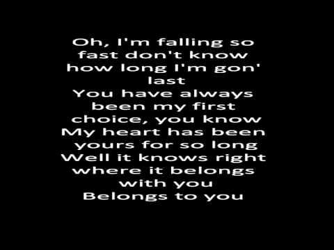First Choice - Gabe Bondoc (Lyrics) [HQ]