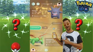 DOBLE INTERCAMBIO con SUERTE & DOS NUEVOS SHINIES del EVENTO !! - Pokemon GoTO