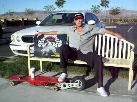 X-Calibur Electrically Powered Motorized Skateboard US Patent!