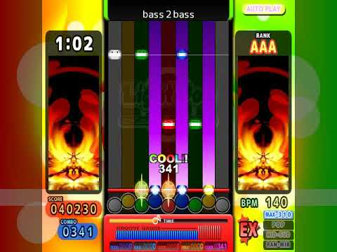[if pop'n music 42] bass 2 bass