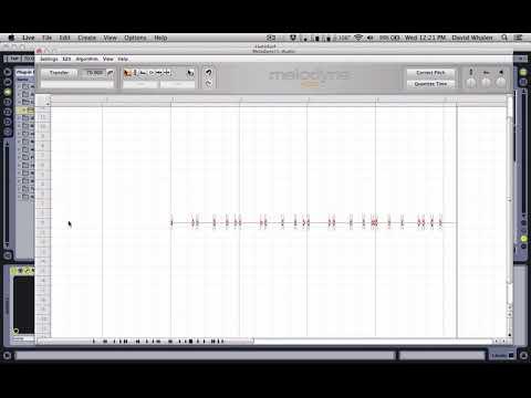 Using Melodyne to convert Audio to MIDI
