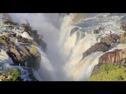 Great Desert Waterfalls of Africa