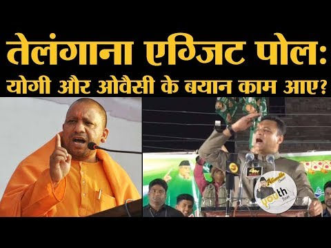Telangana Exit Polls: Asaduddin,Akbauddin Owaisi और Yogi Adityanath के बयानों का कैसा रहा असर