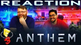 Anthem Gameplay Reveal Trailer REACTION!!