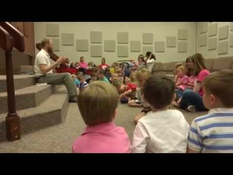 Sonshine School - Singing Deep Down in My Heart During Chapel - 05/05/2014