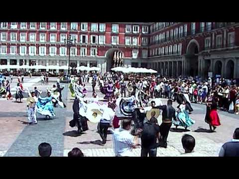 Flash Mob de Marinera - Madrid 2011