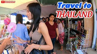 How to Travel Thailand cheap ▶ Street Food and Nightlife Experiences in Mukdahan