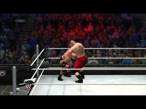 Wwe 2k14: Goldberg Vs Brock Lesnar - Online Match video