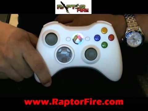 How to use Raptor Fire Chip for XBOX 360 ( MENU & MODES )