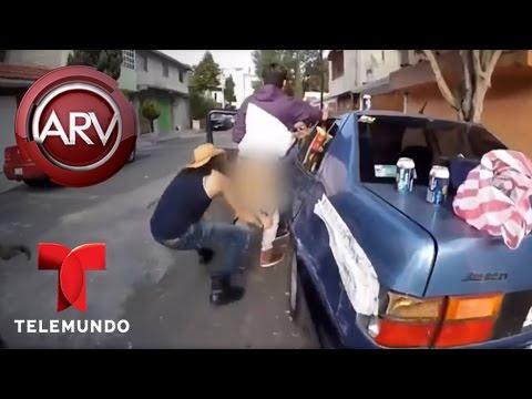 VIDEO: JÓVENES SE DEDICAN A HACER BROMAS PESADAS A LA GENTE