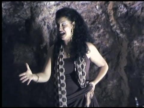 Fandangos Canta Rocío Segura en el interior de la Mina Agrupa Vicenta