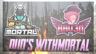PUBG MOBILE LIVE | DUOS RANK PUSH WITH MORTAL