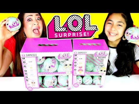 L.O.L SURPRISE DOLLS SERIES 2 ENTIRE BOX  B2cutecupcakes