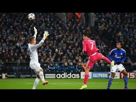 Gol Cristiano Ronaldo Vs Schalke 04 [hd] 18 02 2015 | Cope video