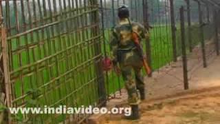 Tripura Bangladesh border fence India