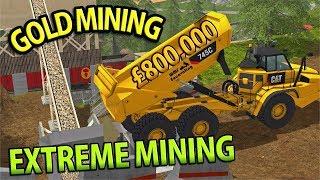 EXTREME GOLD MINING | £800,000 | MASSIVE CAT SETUP