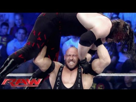 Raw - Ryback's path of destruction: Raw, June 10, 2013