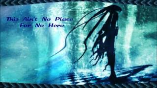 Anti-Nightcore - This Ain't No Place For No Hero (Short Change Hero) {Request}