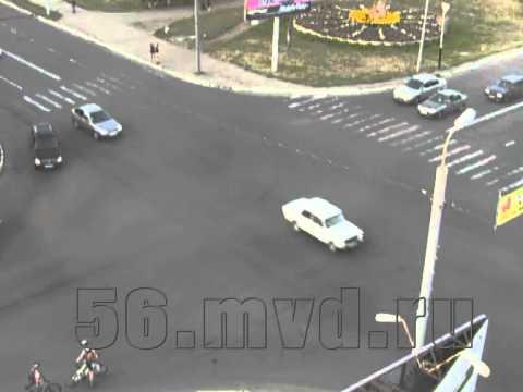 ДТП с мотоциклистом в Оренбурге
