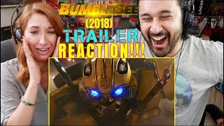 BUMBLEBEE (2018) - New Official TRAILER REACTION!!!