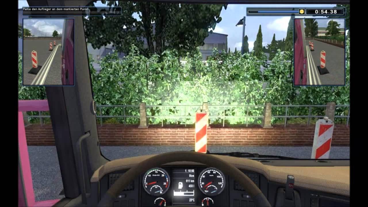 lkw simulator videos