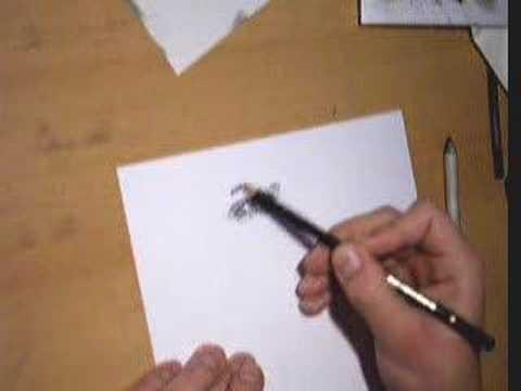 Mitzi Martin Eyes. Me drawing an human eye with